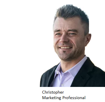 Christopher, Marketing professional, Chicago