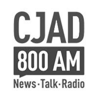 Logo CJAD 800am radio